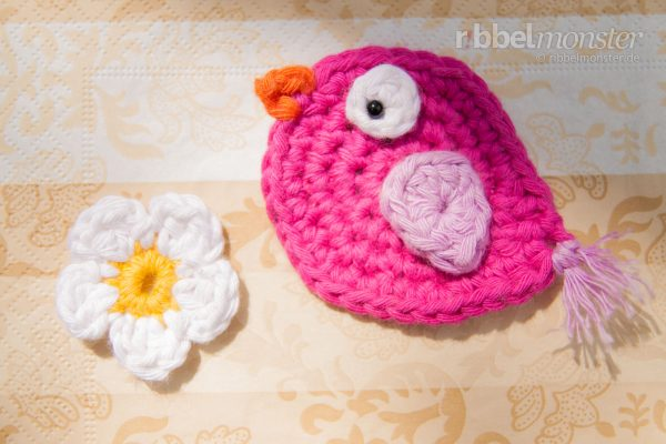 "Crochet Sparrow – ""Ida"""