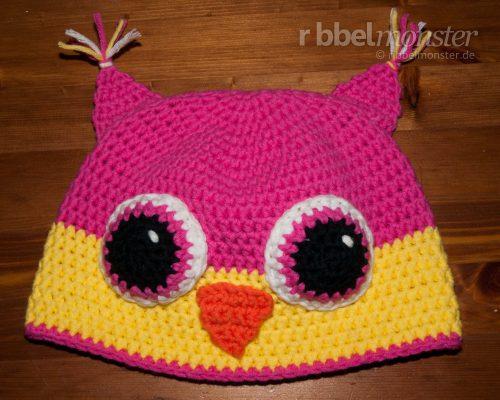 """Crochet Hat – Crochet Owl Hat """"Sweet Owl"""""""