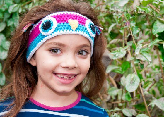 "Crochet Headband – ""Little Owl"""