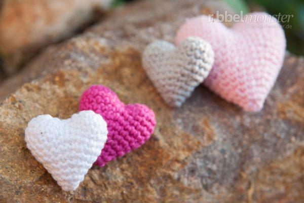 "Amigurumi – Crochet Heart ""Sweet heart"""
