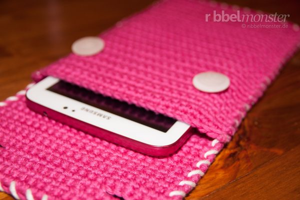 Crochet Tablet Cosy – Tablet Cover, E-Reader, Kindle, IPad