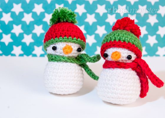 Amigurumi – Crochet Little Snowman
