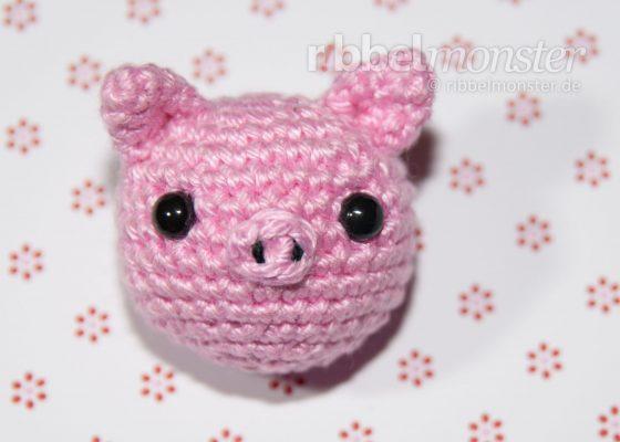 "Amigurumi – Crochet Piggy ""Pori"""