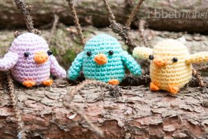 Amigurumi Pattern - Crochet Little Birds - free Crochet Pattern