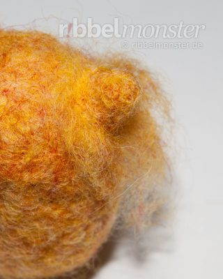 Needle Felting – Felt Parts Together