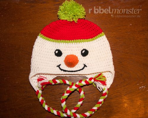 """Crochet Snowman Hat """"Frosty"""""""