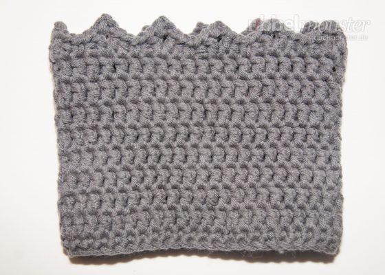 """Crochet Boot Cuffs """"Crown"""""""