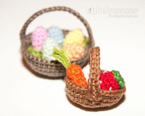 Amigurumi – Crochet Basket – All Sizes