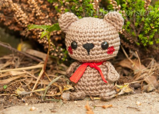 "Amigurumi – Minimee Crochet Brown Bear ""Balu"""