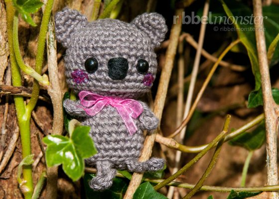 "Amigurumi – Minimee Crochet Koala Bear ""Sina"""