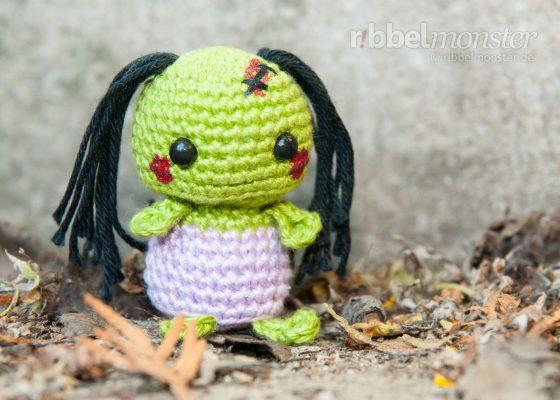 "Amigurumi – Minimee Crochet Zombie ""Ouka"""