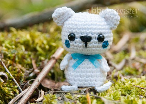 "Amigurumi – Minimee Crochet Polar Bear ""Ole"""