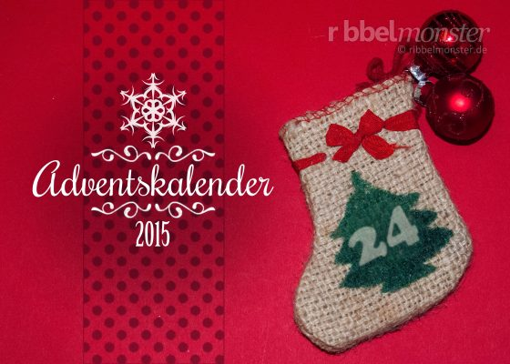Ribbelmonster Advent Calender 2015