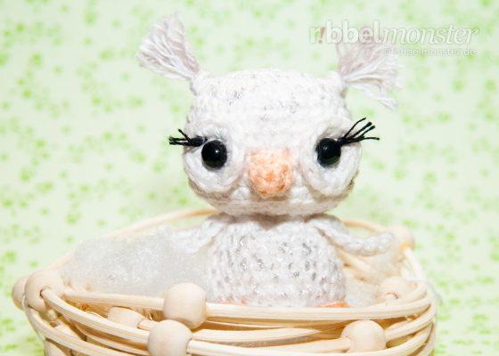 "Amigurumi – Minimee Crochet Snow Owl ""Dina"""