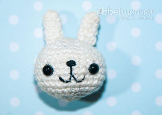 "Amigurumi – Crochet Snow Bunny ""Niku"""