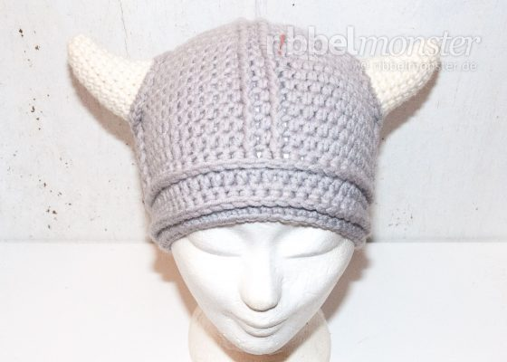 "Crochet Viking Hat ""Wicki"""