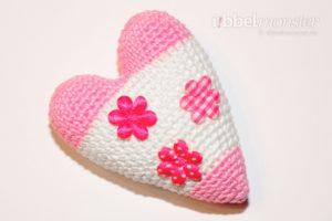 Amigurumi - Crochet big Tilda heart - crochet pattern - tutorial for free
