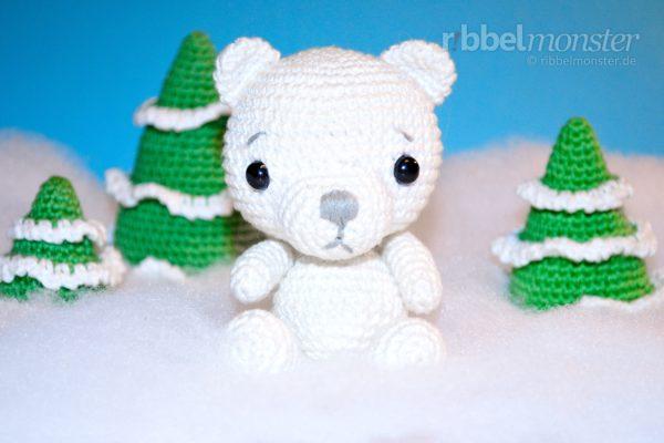 """Amigurumi – Crochet Polar Bear """"Kalle"""""""