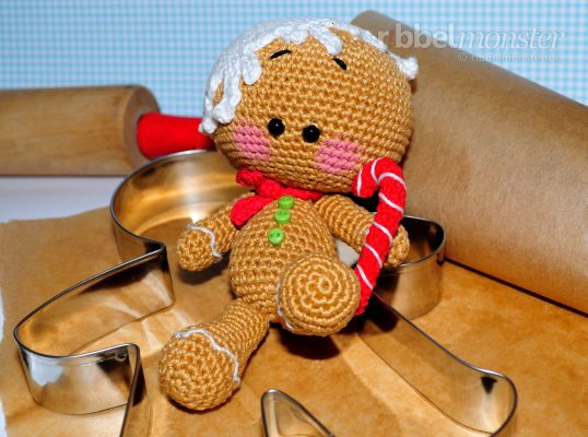 "Amigurumi – Crochet Gingerbread Man ""Pepe"""