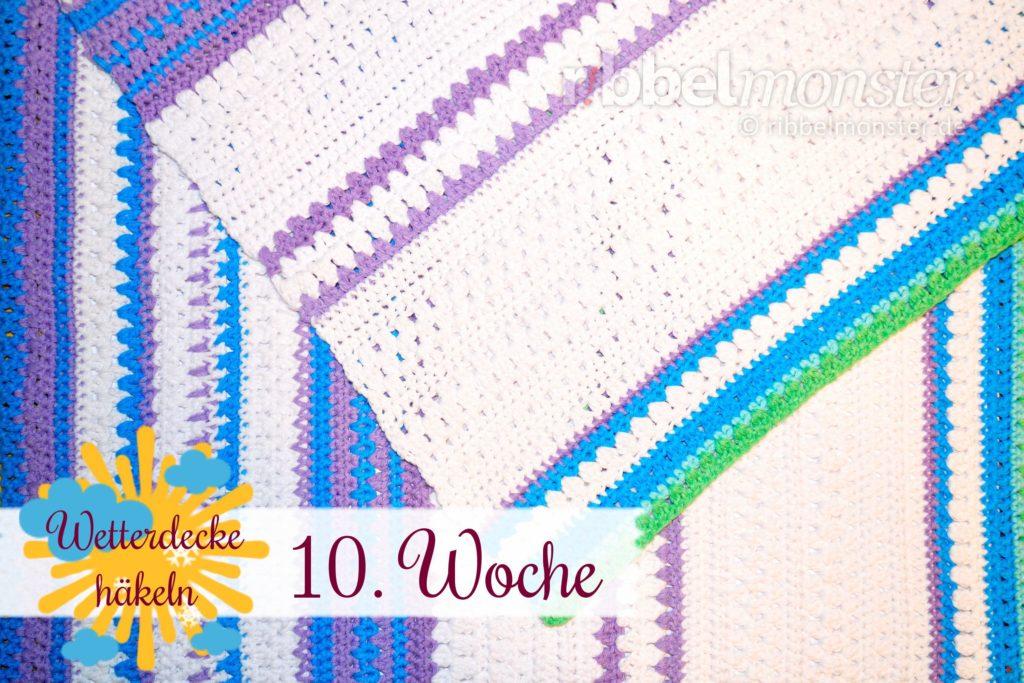 Crochet Weather Blanket Cal 10th Week Free Pattern Ribbelmonster