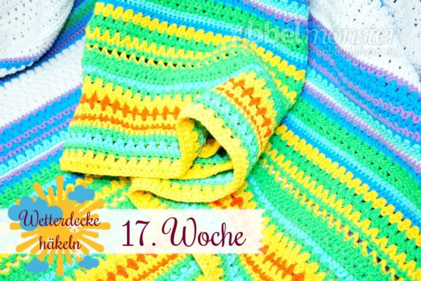 Crochet Weather Blanket – CAL – 17th Week