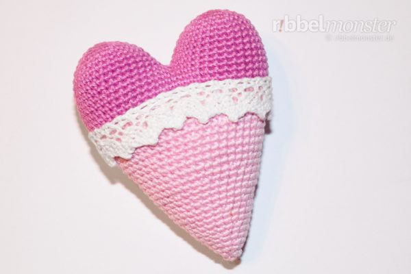 Amigurumi – Crochet biggest Tilda heart