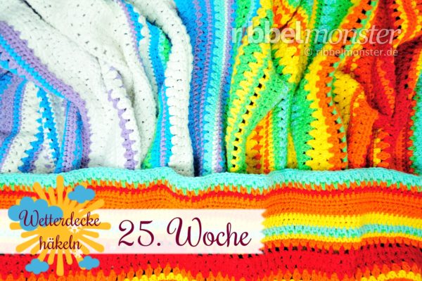 Crochet Weather Blanket – CAL – 25th Week