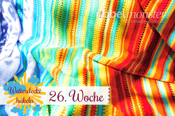 Crochet Weather Blanket – CAL – 26th Week