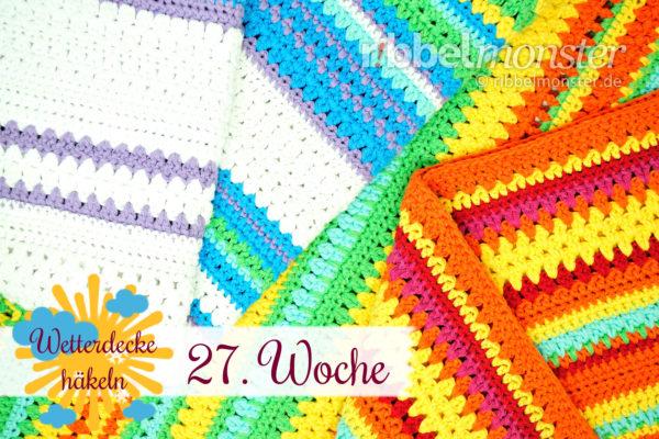 Crochet Weather Blanket – CAL – 27th Week