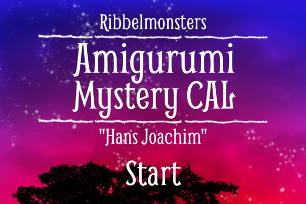 """Amigurumi Mystery CAL – """"Hans Joachim"""""""