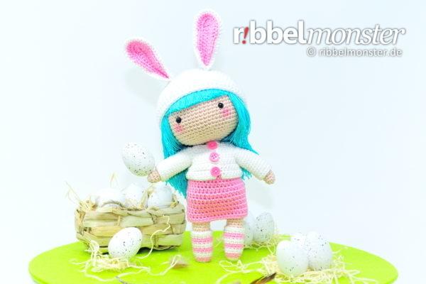 """Crochet Cukado Doll – Bunny """"Faira"""""""