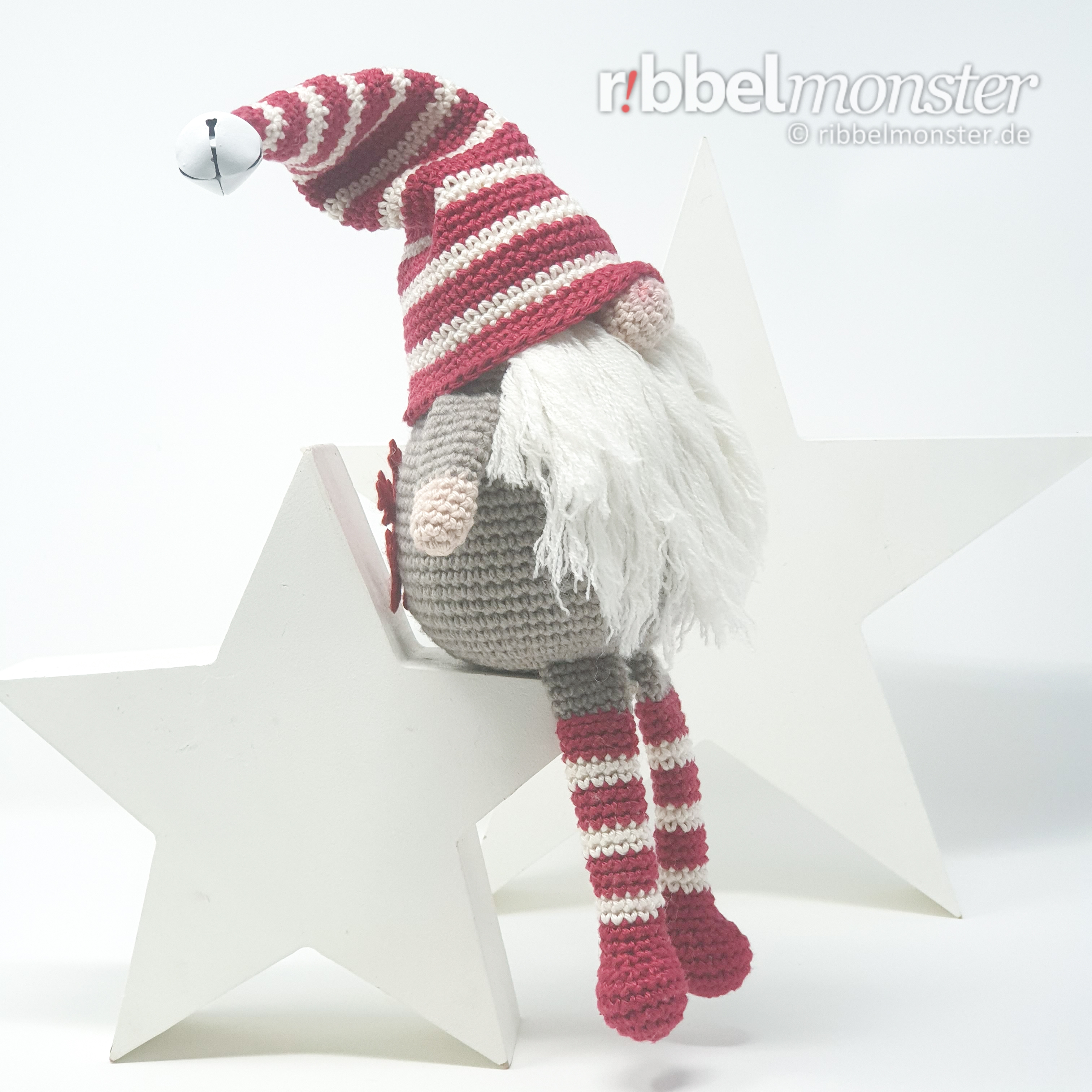Miniature Christmas Hat and Magical Scarf For Hunny Bear | Crochet ... | 3024x3024