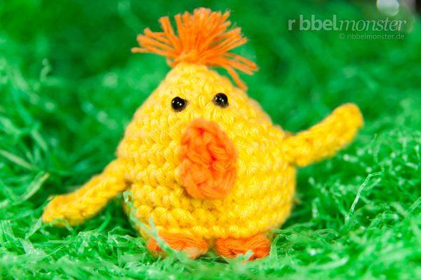 """Amigurumi – Crochet Chick """"Kullerfiep"""""""
