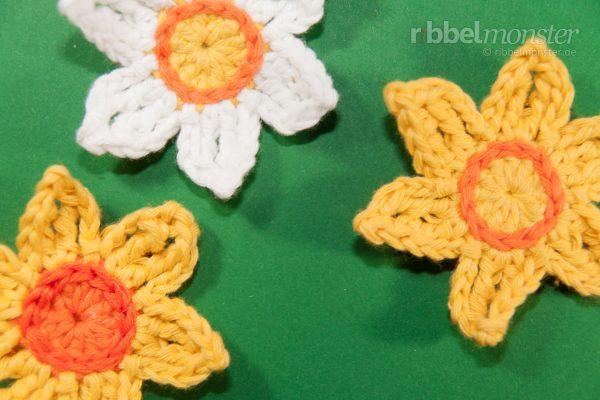 Crochet Flowers – Crochet Daffodils