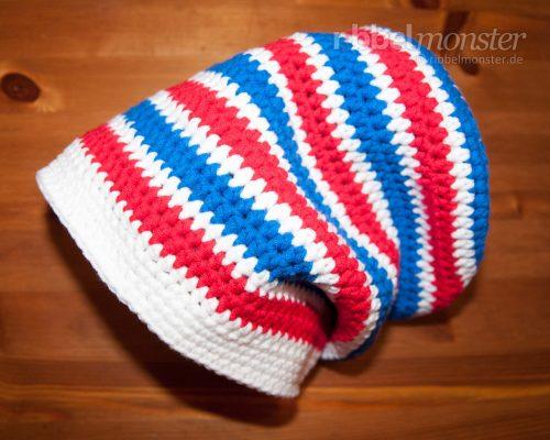 Crochet Hat – Longbeanie with Half Treble Crochet Stitches