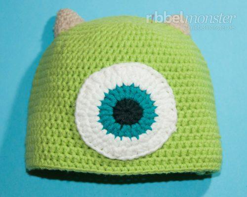 """Crochet Hat – Monster """"Mike"""""""
