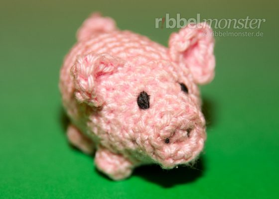 "Amigurumi – Crochet Little Pig ""Lucky Pig"""