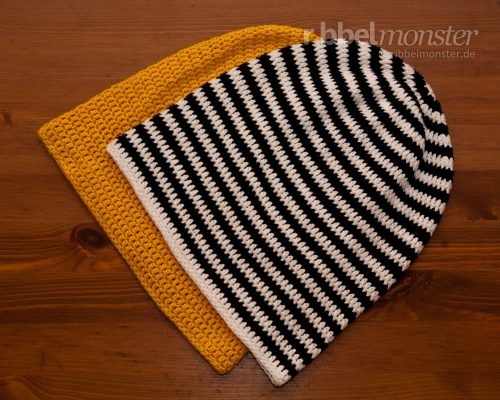 Crochet Hat – Long Beanie with Treble Crochet Stitches