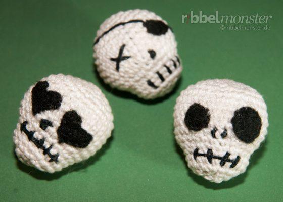 Amigurumi – Crochet Skull