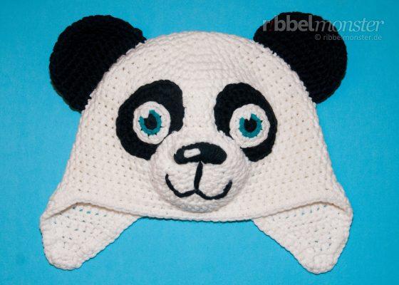 """Crochet Panda Hat """"Paddy"""""""