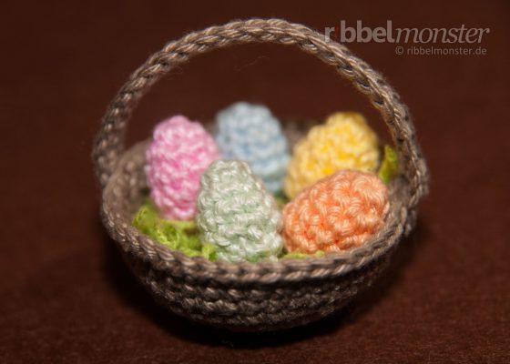 Amigurumi – Crochet Tinier Easter Eggs