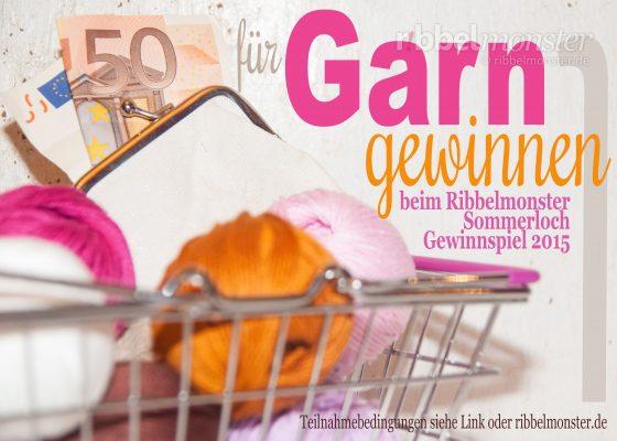 Sommerloch Gewinnspiel 2015 – Garn für 50 € gewinnen!