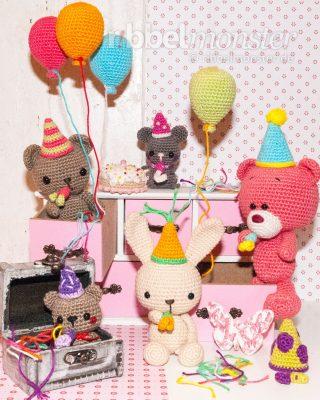 "Amigurumi – Crochet Birthday Party ""3 Years"""