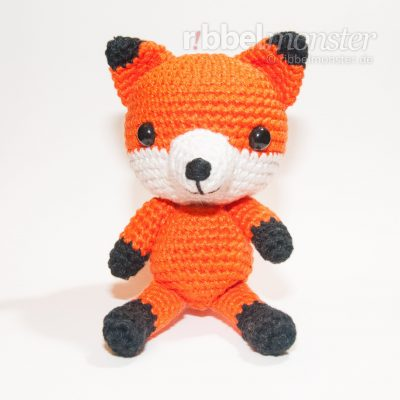 "Amigurumi – Crochet Clever Fox ""Aiko"""