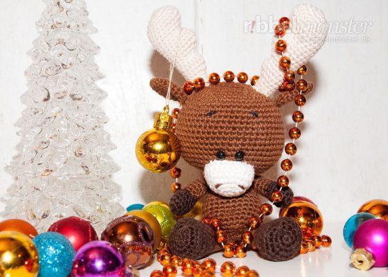 """Amigurumi – Crochet Moose """"Sören"""""""
