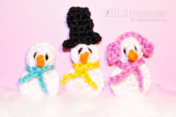 Patch – Crochet Tinier Snowman