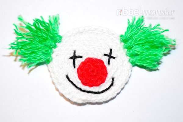 "Patch – Crochet Little Clown ""Beppo"""