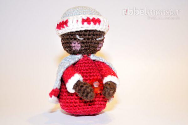 Amigurumi – Crochet Kokeshi Balthasar