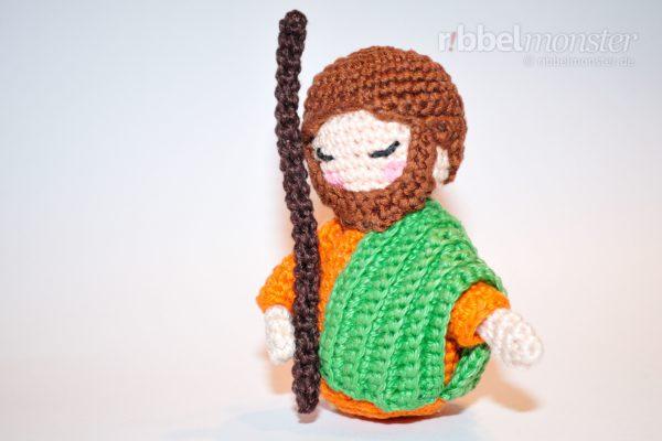 Amigurumi – Crochet Kokeshi Josef