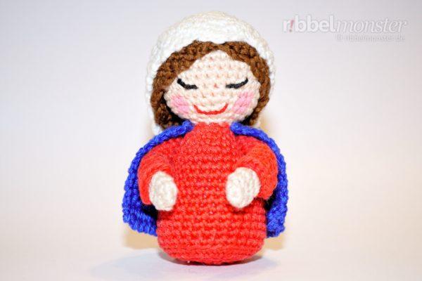 Bambolina kokeshi amigurumi - free download pattern doll kokeshi ... | 400x600